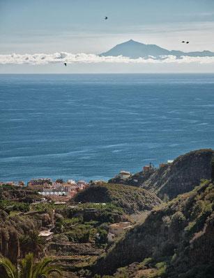 Teide von La Palma aus gesehen