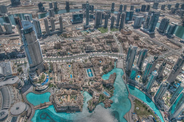 Blick vom Burj Khalifa2
