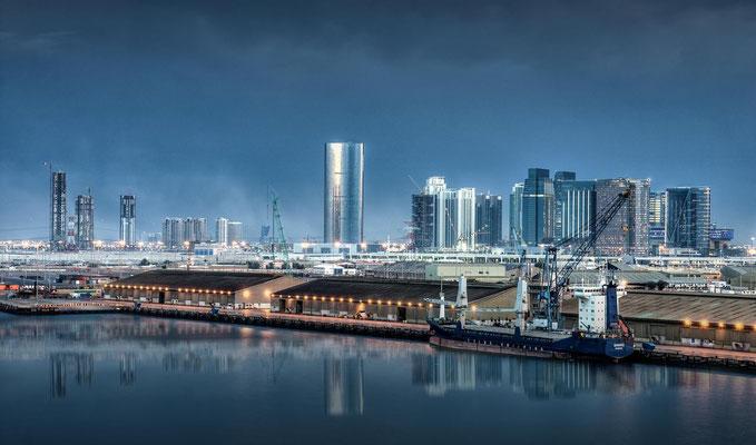 Abu Dhabi bei Nacht2