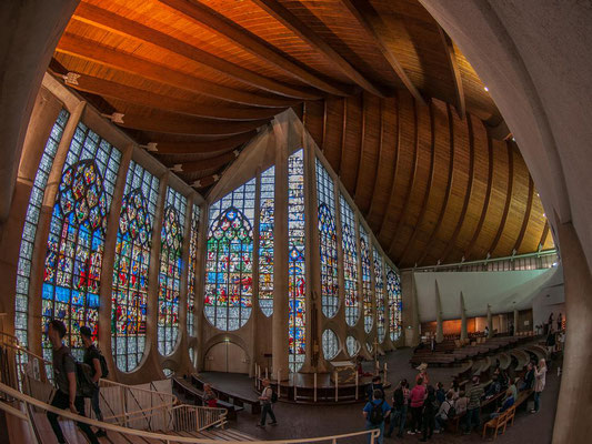Kirche Jeanne d Arc in Rouen 2