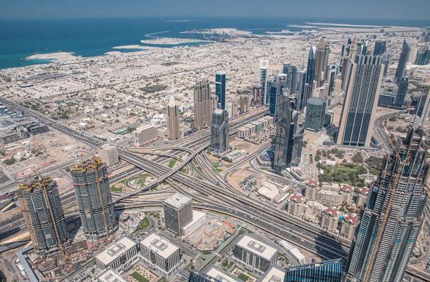 Blick vom Burj Khalifa3