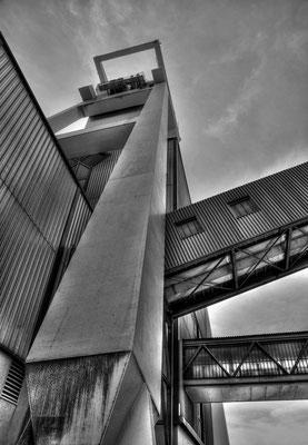 Turm IV Grube Göttelborn HDR