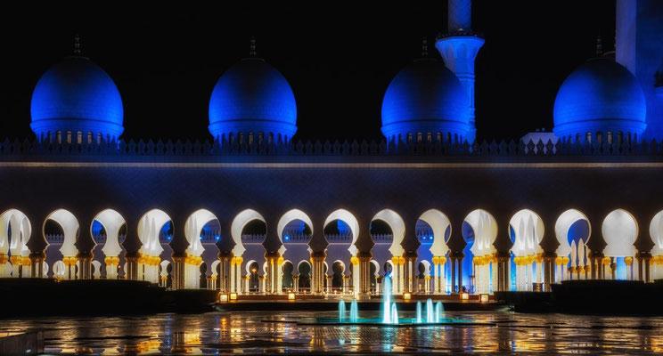 Sheik Zayed Moschee in Abu Dhabi3