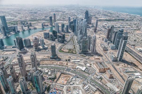 Blick vom Burj Khalifa5