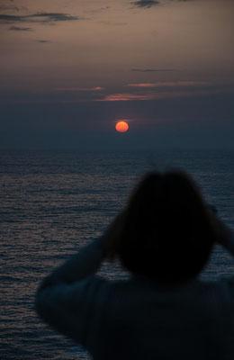Sonnenuntergang auf der AIDA 2