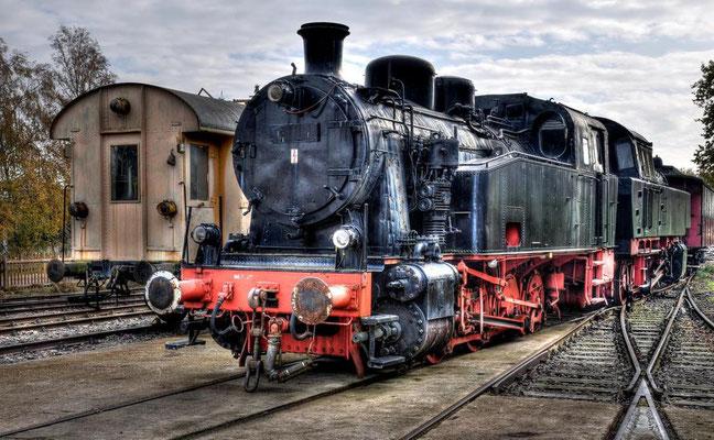 Alte Dampfeisenbahn