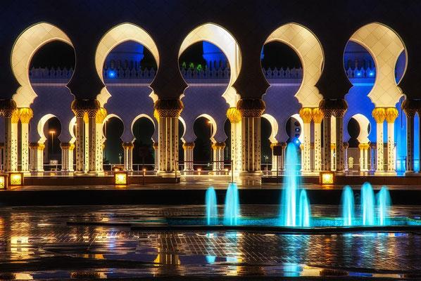 Sheik Zayed Moschee in Abu Dhabi2