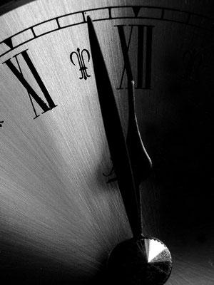 Die Uhr läuft ab