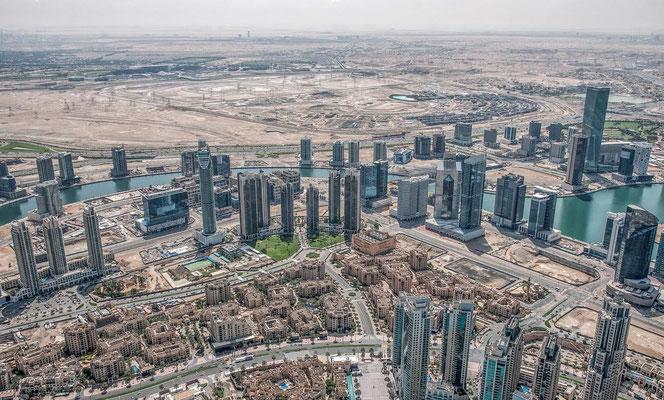 Blick vom Burj Khalifa1