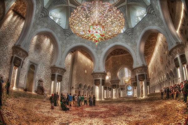 Sheik Zayed Moschee in Abu Dhabi4