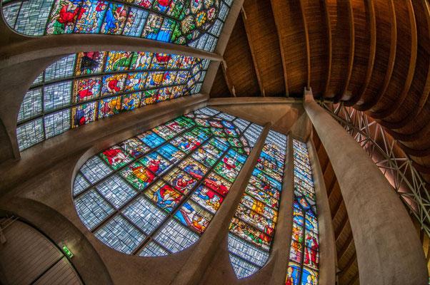 Kirche Jeanne d Arc in Rouen