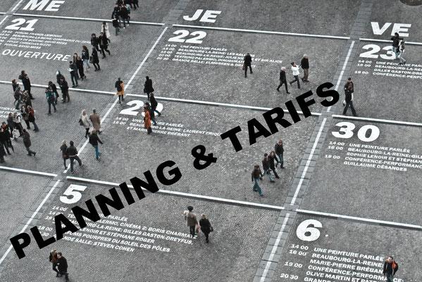 PLANNING & TARIFS