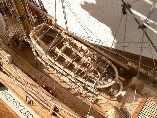 Schiffsmodell Heemskerck