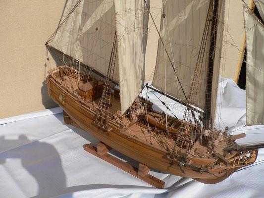 Schiffsmodell Hallifax