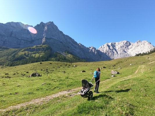 Hike Kid - Offroad Kinderwagen im Gebirge