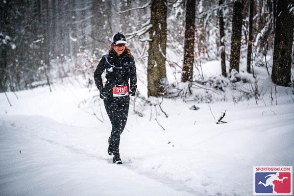 Manuela Dietzinger beim MOUNTAINMAN Wintertrail