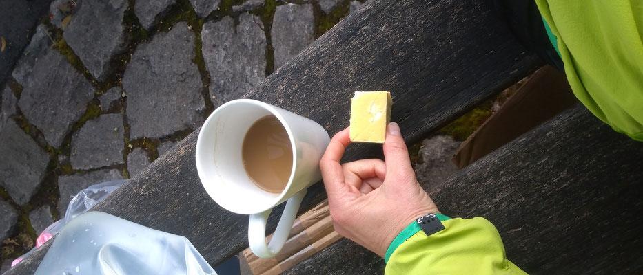 Wiesenttal ONE 100 - Frühstück