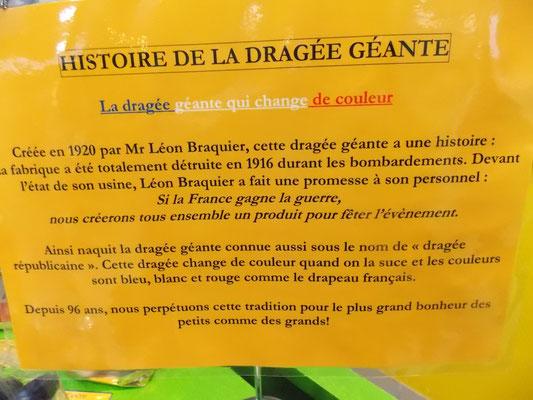 Dragées Braquier à Verdun
