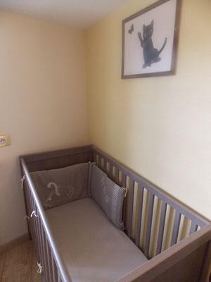 lit bébé du gîte de Commercy