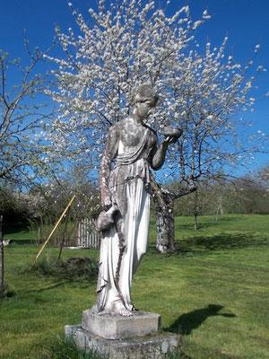Hébé (fille de Zeus et d'Héra) arrivée en Meuse