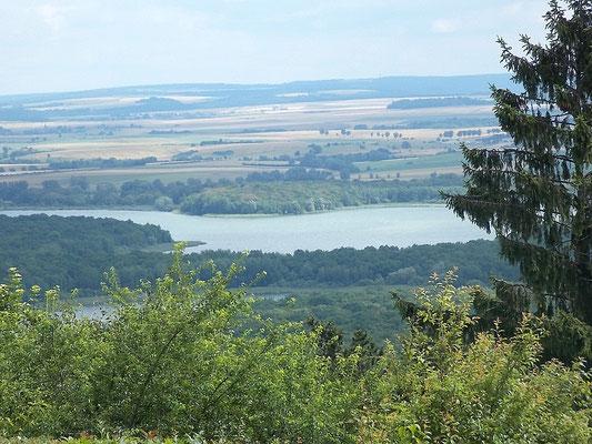 Lac de Madine depuis Montsec