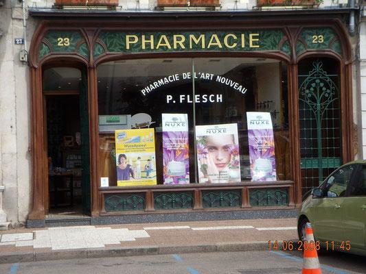 Pharmacie Art nouveau à Commercy