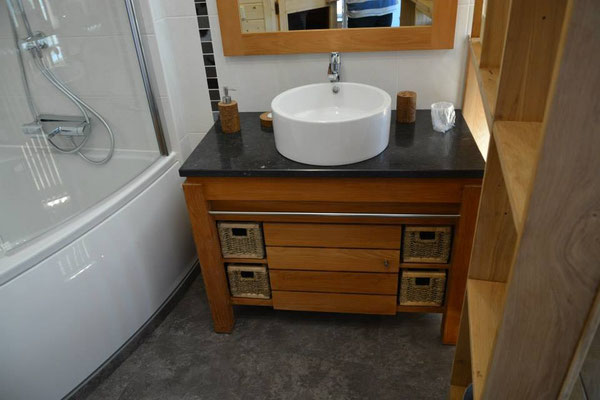 salle de bain cocooning à Commercy