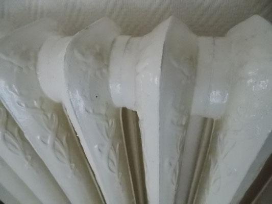 radiateurs sculptés en fonte à Commercy