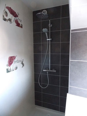 douche italienne du gîte de Commercy
