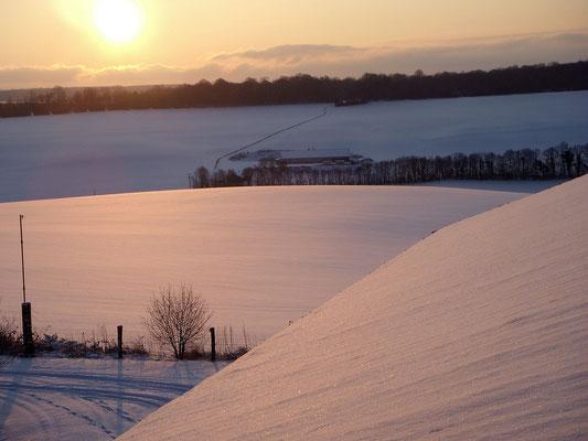 Neige à Morville