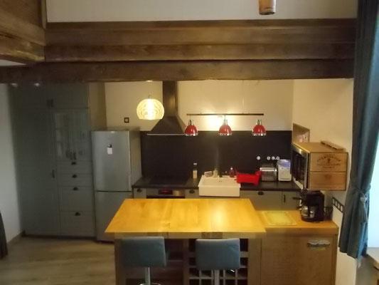 vue d'ensemble de la cuisine