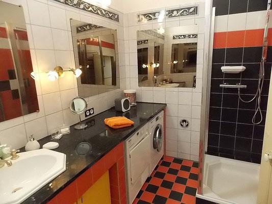 salle d'eau du gîte de charme en Meuse
