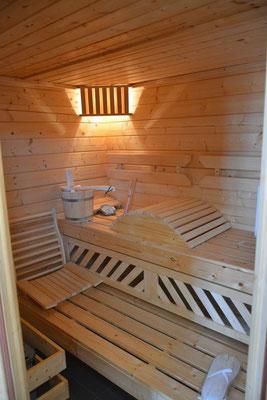 sauna du gîte de Commercy