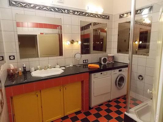 salle d'eau du gîte près de Commercy