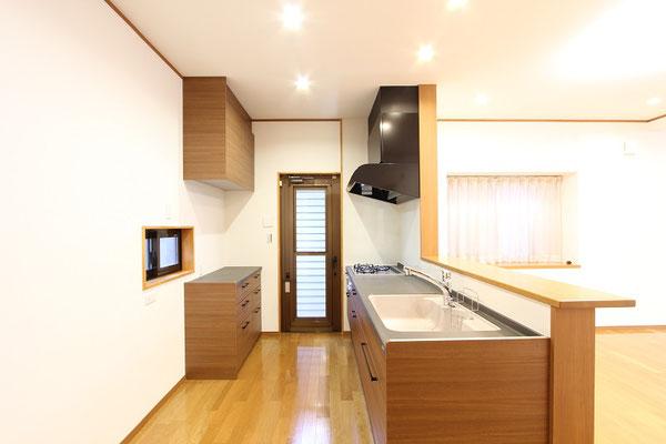 システムキッチン施工後-3