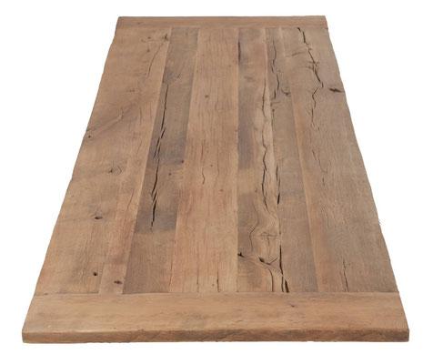 Tischplatte Klostertisch Eiche antik