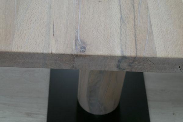 Detailbild Tischplatte