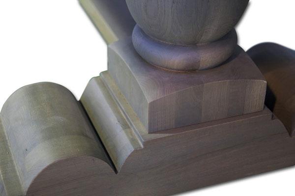 Detailbild Rittertisch Klostertisch Eiche 3