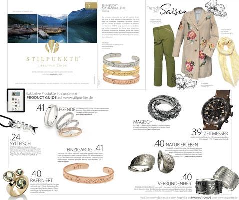 STILLPUNKTE - Lifestyle Guide Ausgabe Hamburg & Sylt #13 Frühjahr/Sommer 2018