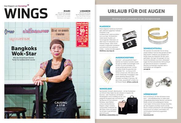 WINGS - Das Eurowings Magazin  Ausgabe Juli/August 2018