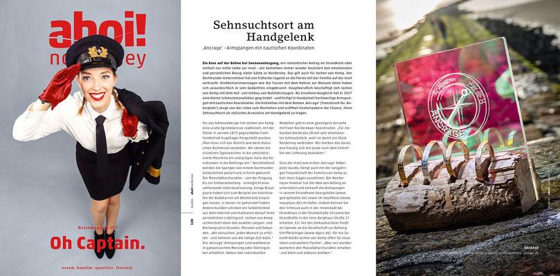 ahoi! norderney Reisemagazin #27 Ausgabe01/18