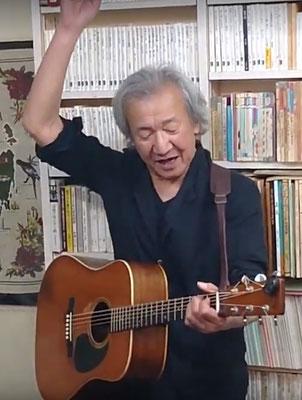 ピート・シーガー生誕100周年の今年2019年の最後のコンサートの最後の曲に「アンクル・ピート」を熱唱!