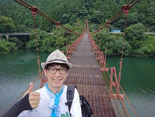 フレクサーアームカバーをしていたので橋の上でも恐怖心は無かったです(^_-)-☆