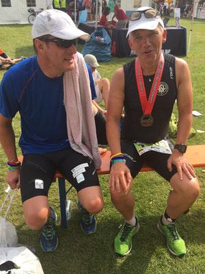 Triathlon macht Freunde