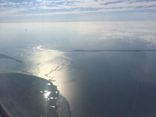 Rückflug - Ein letzter Blick