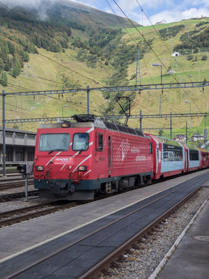 Glacierexpress in Andermatt