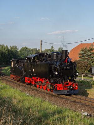 99 715 aus Jöhstadt stand mit dem Hechel für die 60er