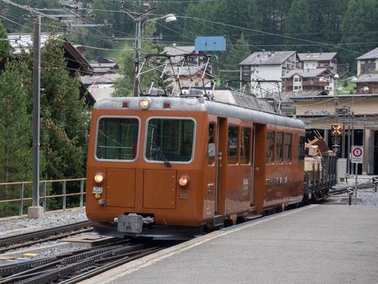 Altbautriebwagen Gornergratbahn