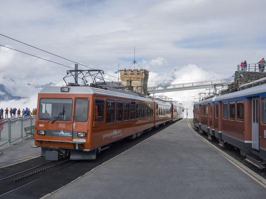 Gornergratbahn auf 3089 m