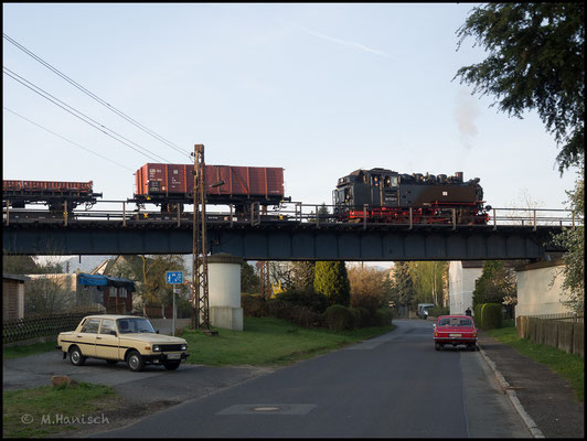 Fotohalt Olbersdorfer Talbrücke